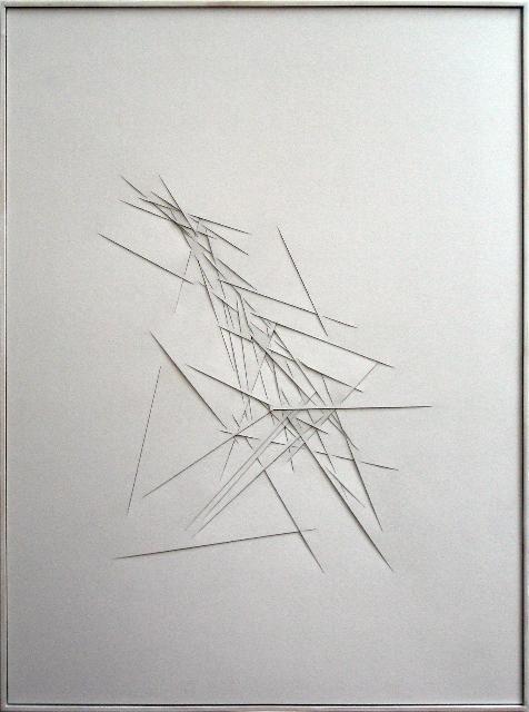 Titelbild zur Ausstellung von Franz Riedl bei Nin Prantner Mikado II
